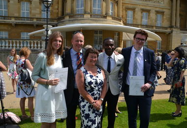 Gold DofE Awards 2016-2017