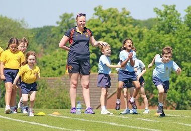 Pre-Prep Sports Day Races