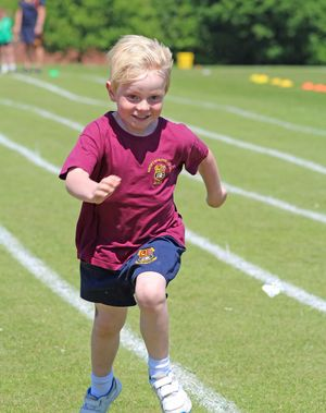 Boy running smaller