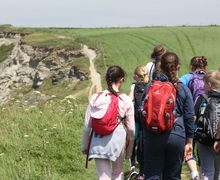 Form 2 Prep School Pupils Hiking Cornwall Trip 2017