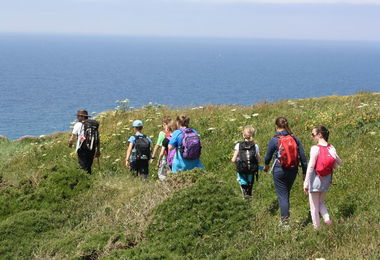 Prep School Form 2 Hikers Cornwall 2017