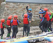 Prep School Form 2 Surfing Lesson Cornwall 17