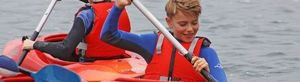 Prep School Form 2 Boy Paddling Cornwall 17