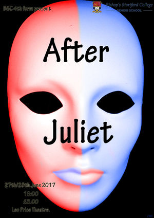 After juliet poster 4th Form Play