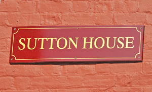 Sutton House Wall Plaque