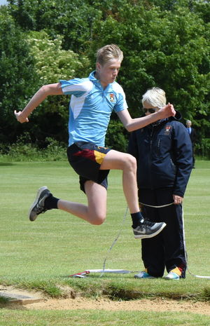 Collett Long Jumper Junior Sports Day 2017