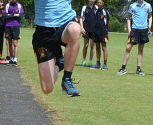 Collett Boy Long Jumping Junior Sports Day 2017