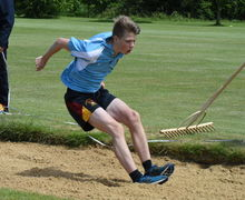 Collett Boy Long Jump Junior Sports Day 2017