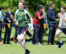 RPH & Sutton Boys Race at Junior Sports Day 2017