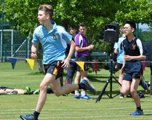 Collett & School Boys Race Junior Sports Day 2017