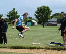Collett Long Jump F4 & L5 Junior Sports Day 2017