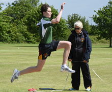 RPH Long Jump F4 & L5 Junior Sports Day 2017