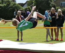 Tee House High Jumper Junior Sports Day 2017