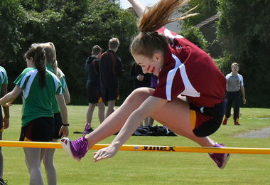 Young House High Jump Junior Sports Day 2017