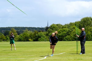 F4 & L5 Girl Javelin Junior Sports Day 2017