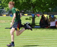 RPH Runner in F4 & L5 Junior Sports Day 2017
