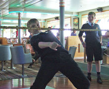 Fun on Ferry Crossing Prep School Music Tour to Normandy