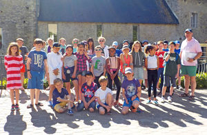 Pupils in Sunshine Prep School Music Tour to Normandy