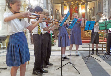Violin Performance Prep School Music Tour to Normandy