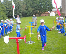 Year 2 Fun & Games at Hedingham Castle