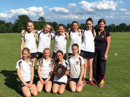 U12a district rounders champs