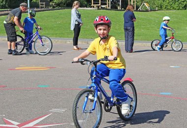 Year 2 Bikeability Session 2017
