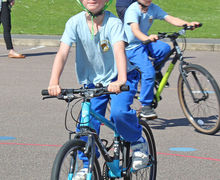 Bikeability Session for Year 2 2017