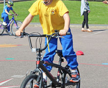 Year 2 Cycling Session with Bikeability 2017