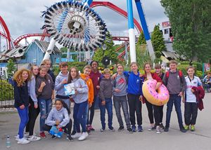 U3 leavers camp 2017 outside water park