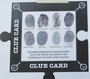 L3 clue card for murder mystery