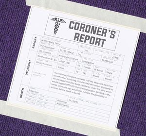 L3 murder mystery in the library coroner report