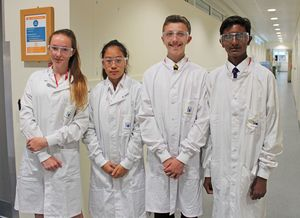 U3 pupil scientists at medimmune