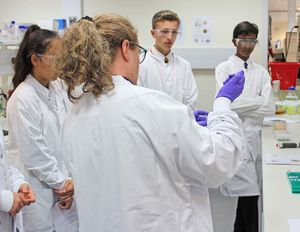 U3 pupils in medimmune lab