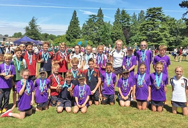 Pupils Swim & Run to Success in Aquathlon