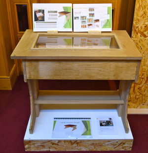 GCSE Table in Product Design Show 2017