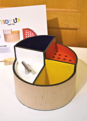 GCSE Storage Box Product Design Show 2017