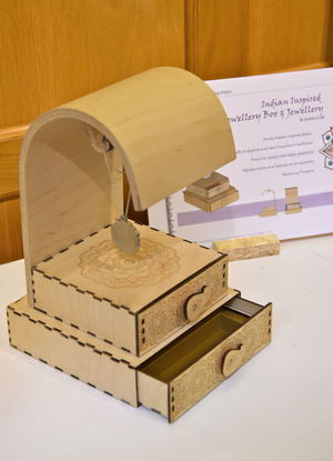 GCSE Jewelry Box Product Design Show 2017