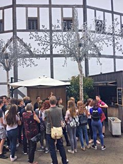 4th Form Pupils at Shakespeare's Globe