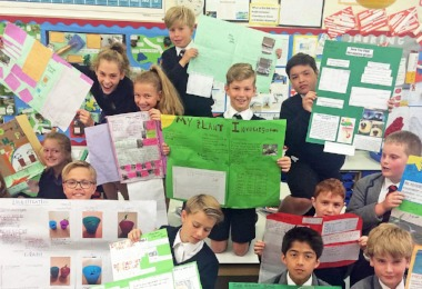 Form 2's Fun Investigation of Plants