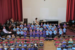 Year 2 Music Concert Choir