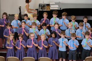 Year 2 Pre-Prep Pupils Concert Recorders