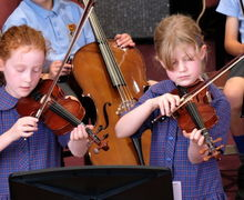 Girls on Violin Year 2 Concert