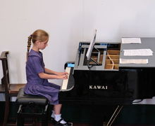 Year 2 Concert Girl Piano Recital