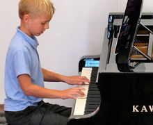 Year 2 Pre-Prep Concert Boy Playing Piano