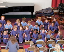 Year 2 Pre-Prep Concert Choir Singing