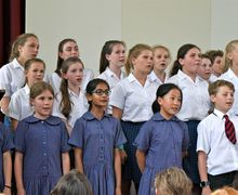 Monk Jones in F1-U3 Prep School House Music Competition
