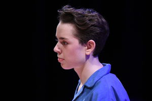 Boy Actor in Fourth Form After Juliet Play