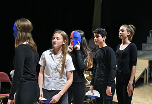 Actors in Fourth Form Play After Juliet 2017