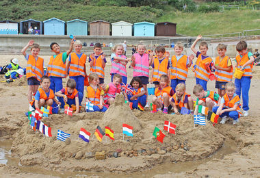 Pre-Prep Pupils Enjoying Frinton July 2017