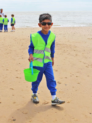 Pre prep boy at frinton on sea july 17
